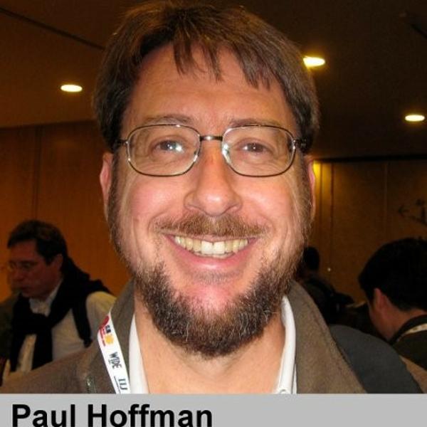Paul Hoffman-ICANN CTO办公室高级专家